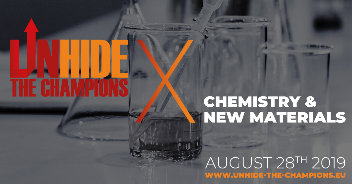 UNHIDE THE CHAMPIONS X  CHEMISTRY & NEW MATERIALS